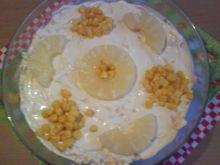 Sałatka z selera z żółtym serem