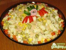 Sałatka z sojową nutką