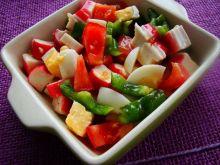 Sałatka z sosem chilli