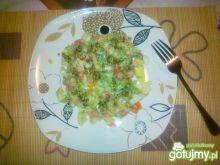 Sałatka z sosem Chimichurri