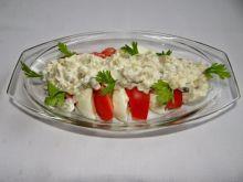 Sałatka z sosem tatarskim
