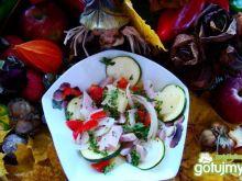 Sałatka z szynką bankietową i ziemniakam