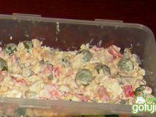 Sałatka z szynką i winogronami