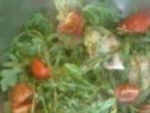 Sałatka z szynką parmeńską