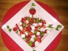 Salatka z truskawek dietetyczna