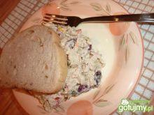 Sałatka z tuńczyka z majonezem