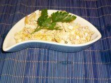 Sałatka z tuńczykiem i dynią
