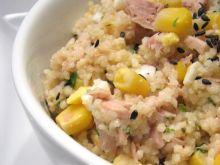 Sałatka z tuńczykiem i kuskus