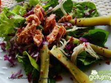 Sałatka z tuńczykiem i selerem