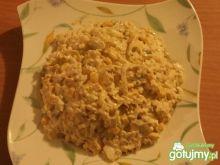 Sałatka z tuńczykiem j jajkiem