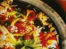 Sałatka z wątróbki i ryżu