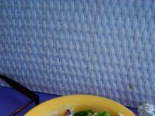 Sałatka z zielonej papryki