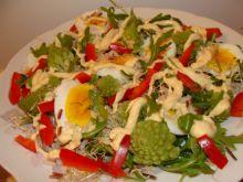 Sałatka z zielonym kalafiorem