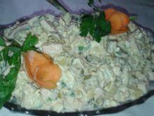 Sałatka z ziemniakami wieloskładnikowa