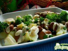 Sałatka z ziemniaków i bobu