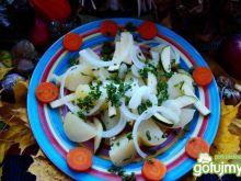 Sałatka z ziemniaków i cukini