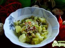 Sałatka z ziemniaków z pestkami dyni