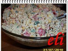 Sałatka z zupek chińskich Eli
