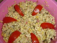 Sałatka z zupek chińskich wg Kamili