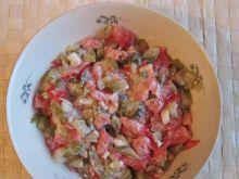 Sałatka zabojcza (pomidorowo-ogórkowa)