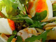sałatka ze schabem w sosie balsamicznym