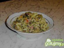 Salatka ze szpinakiem - baaardzo dobra ;