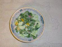 Sałatka ze szpinakiem do obiadu