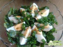Sałatka ze szpinakiem i rzodkiewkami