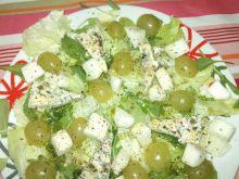 Sałatka zielono-turkusowa