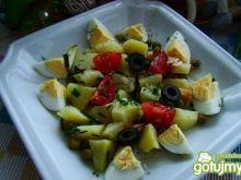 Sałatka ziemniaczana z jajkiem wg  iwy