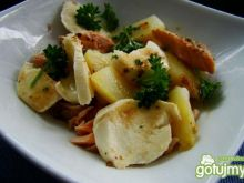 Sałatka ziemniaczana z mozzarellą