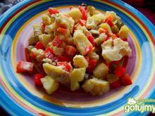 Sałatka ziemniaczano -kalafiorowa