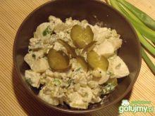 Sałatka ziemniaczano-ogórkowa
