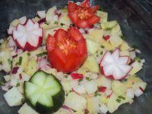Sałatka ziemniaczano ogórkowa