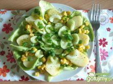 Sałatka żółto-zielona 2