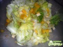 Sałatka żółto-zielona 4