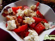 Sałatka zpomidorowo-paprykowo-tuńczykowa