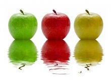 Sałatki z jabłkiem i cebulą?