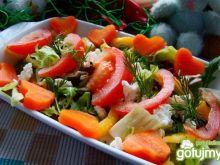 Sałaty z marchewkowymi sercami