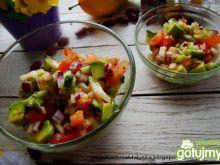 Salsa pomidorowa z awokado -sałateczka
