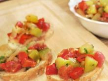 Salsa z grillowanych warzyw