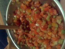 Salsa z pomidorami