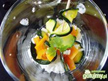 Sałtka z grillowaną cukinią