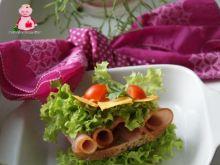 Sandwich  Buni na razowcu :