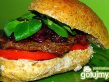 Sandwich z wołowiną...