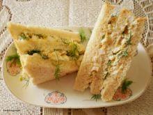 Sandwicze  z jajkiem wg Buni  :