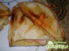 Sandwitch z serem i szynką