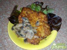 Schab duszony z pieczarkami 5