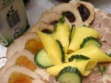 Schab faszerowany suszonymi owocami