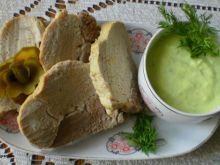 Schab gotowany w sosie z chrzanu Wasabi